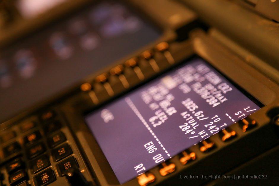 Première navigation (19ème heure de vol)